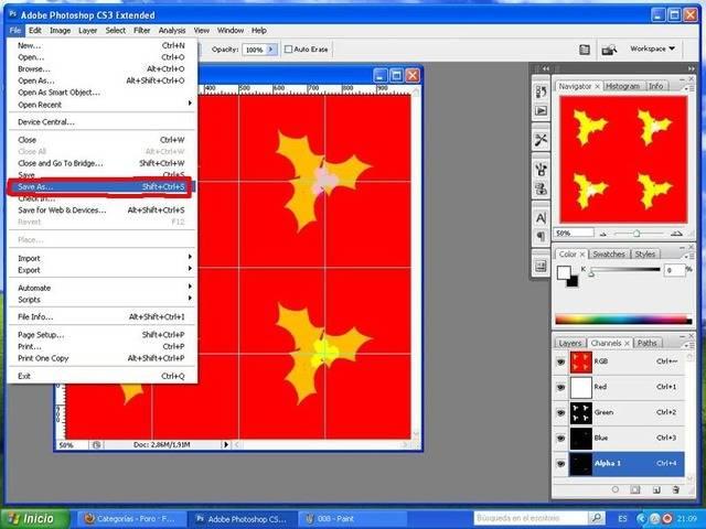 TUTORIAL: Patterns, crea tu propio diseño con Photoshop y Workshop (Fácil) 009