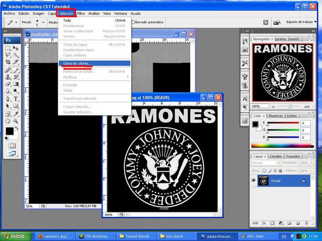 TUTORIAL: Stencils en ropa, añade logos e imagenes en tus camisetas (Workshop y Photoshop) [Fácil] 010