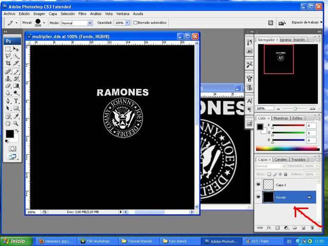 TUTORIAL: Stencils en ropa, añade logos e imagenes en tus camisetas (Workshop y Photoshop) [Fácil] 014-1