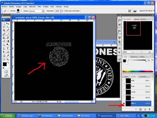 TUTORIAL: Stencils en ropa, añade logos e imagenes en tus camisetas (Workshop y Photoshop) [Fácil] 015-1