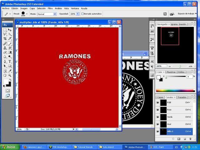 TUTORIAL: Stencils en ropa, añade logos e imagenes en tus camisetas (Workshop y Photoshop) [Fácil] 016-1