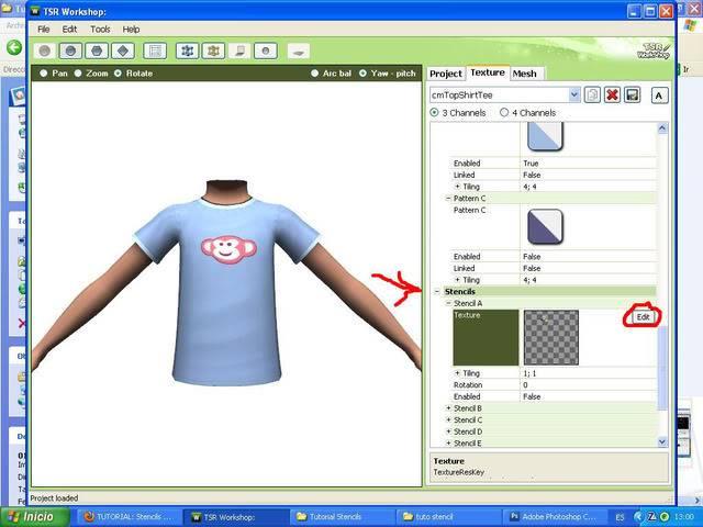 TUTORIAL: Stencils en ropa, añade logos e imagenes en tus camisetas (Workshop y Photoshop) [Fácil] 018
