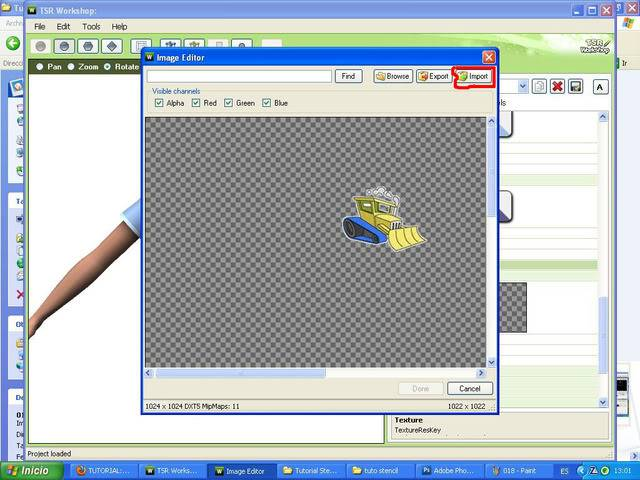 TUTORIAL: Stencils en ropa, añade logos e imagenes en tus camisetas (Workshop y Photoshop) [Fácil] 019