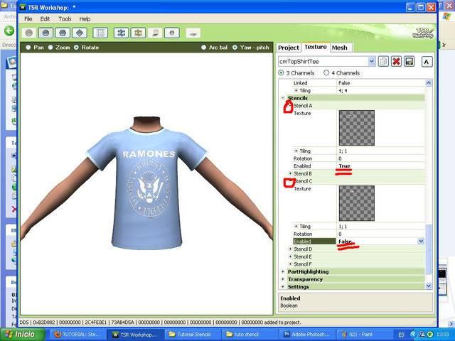 TUTORIAL: Stencils en ropa, añade logos e imagenes en tus camisetas (Workshop y Photoshop) [Fácil] 022