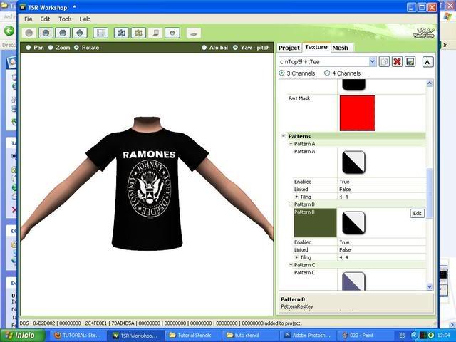 TUTORIAL: Stencils en ropa, añade logos e imagenes en tus camisetas (Workshop y Photoshop) [Fácil] 023