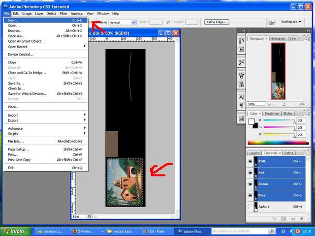 Crear cuadros con TSR-WORKSHOP - Modificación de la lámina 009