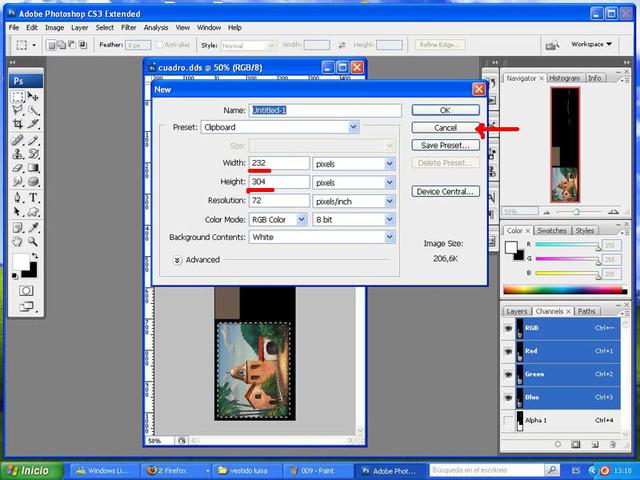Crear cuadros con TSR-WORKSHOP - Modificación de la lámina 010