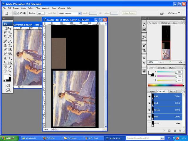 Crear cuadros con TSR-WORKSHOP - Modificación de la lámina 012