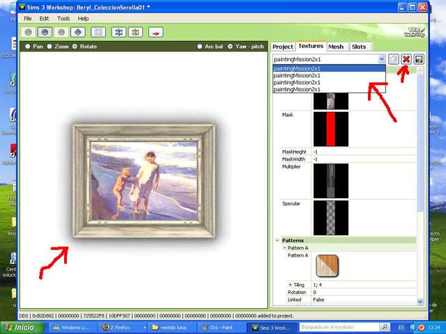 Crear cuadros con TSR-WORKSHOP - Modificación de la lámina 015