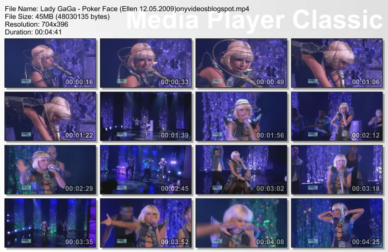 Lady Gaga - Poker face live Ellen 12 may 2009 HQ Thumbs20090515120052