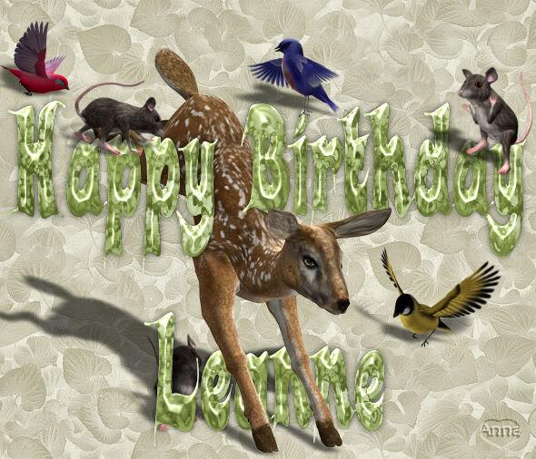 HAPPY BIRTHDAY THREAD Leanne1