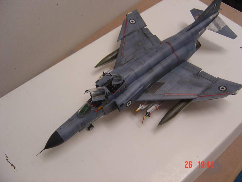 F-4E ΠΑ Μπλε του Αιγαίου, Hasegawa 1/48 DSC02592