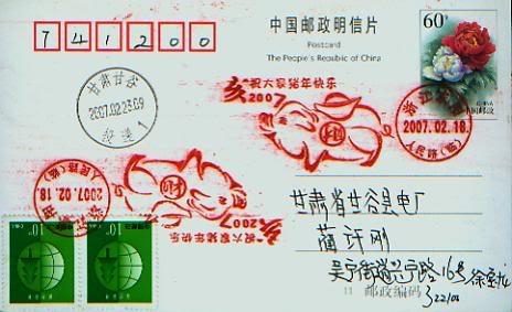 Ich bin ein Chinese, er ist mein Thema - Pferd 006
