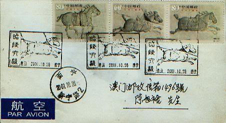 Ich bin ein Chinese, er ist mein Thema - Pferd 036