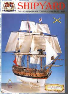 Shipyard HMS Bellona Bài ra mắt Cover1