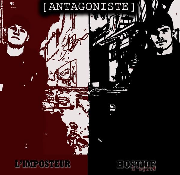 Net Tape de Hostile L'agité [ANTAGONISTE] avant L'album JaquetteAvantmyspace