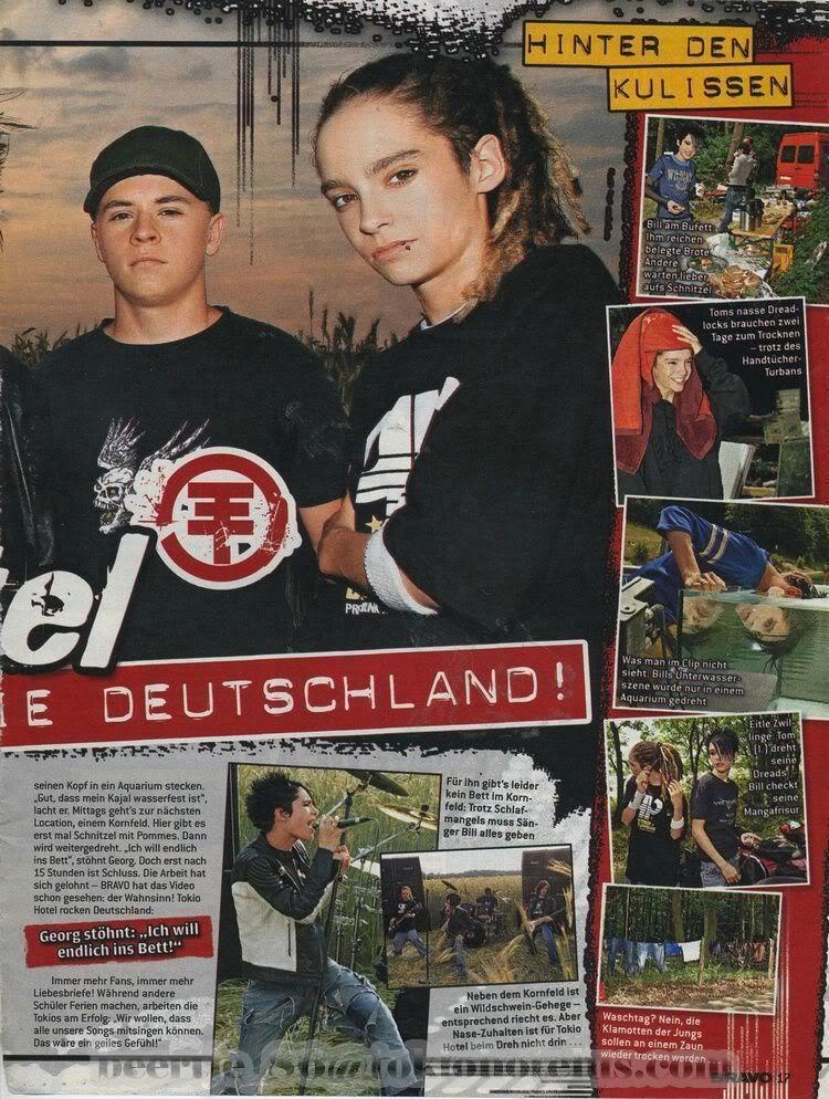 [scan DE 2005] Bravo #34 (tournage DDM ) BravoDdMDreh2