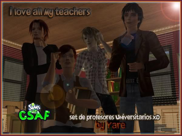 CSAF Sims! Profes_todos