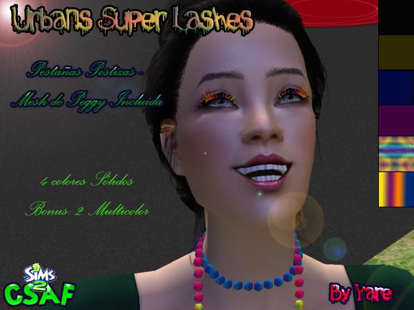 :: Accesories ::  Urbans Super Lashes by Yaremi Pestaascopy