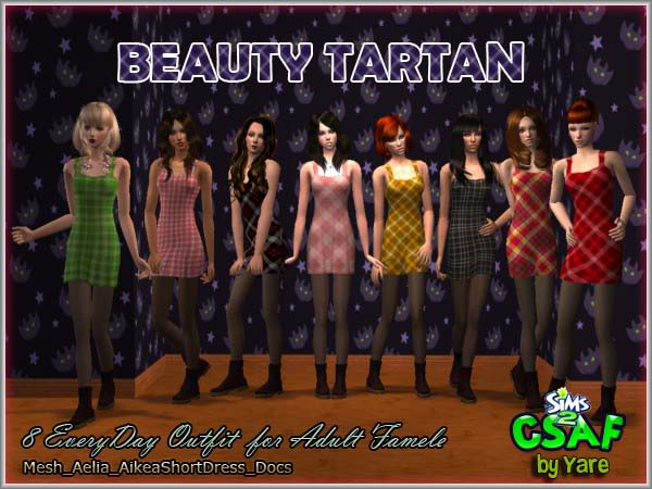 :: CSAF :: COMUNIDAD SIMMERS ACTIVOS :: Beautytartan01