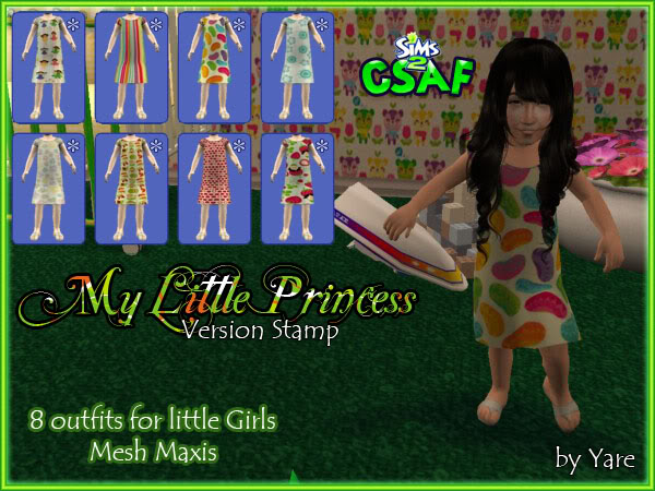 :: EveryDay Infant Girl :: ::The Little Princess :: 24 outfits by Yare ::  Dresslittle03