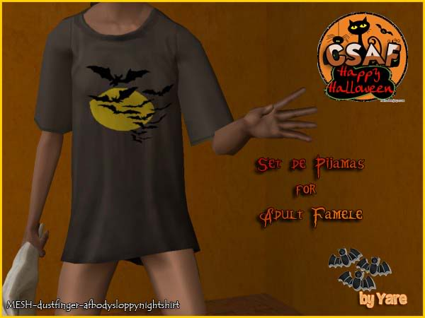 :: CSAF :: COMUNIDAD SIMMERS ACTIVOS :: Pijamashalloween04