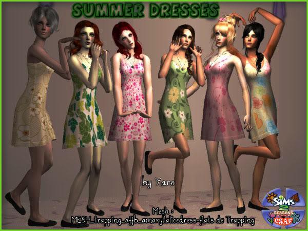 :: CSAF :: COMUNIDAD SIMMERS ACTIVOS :: Summerdresses_by_yare