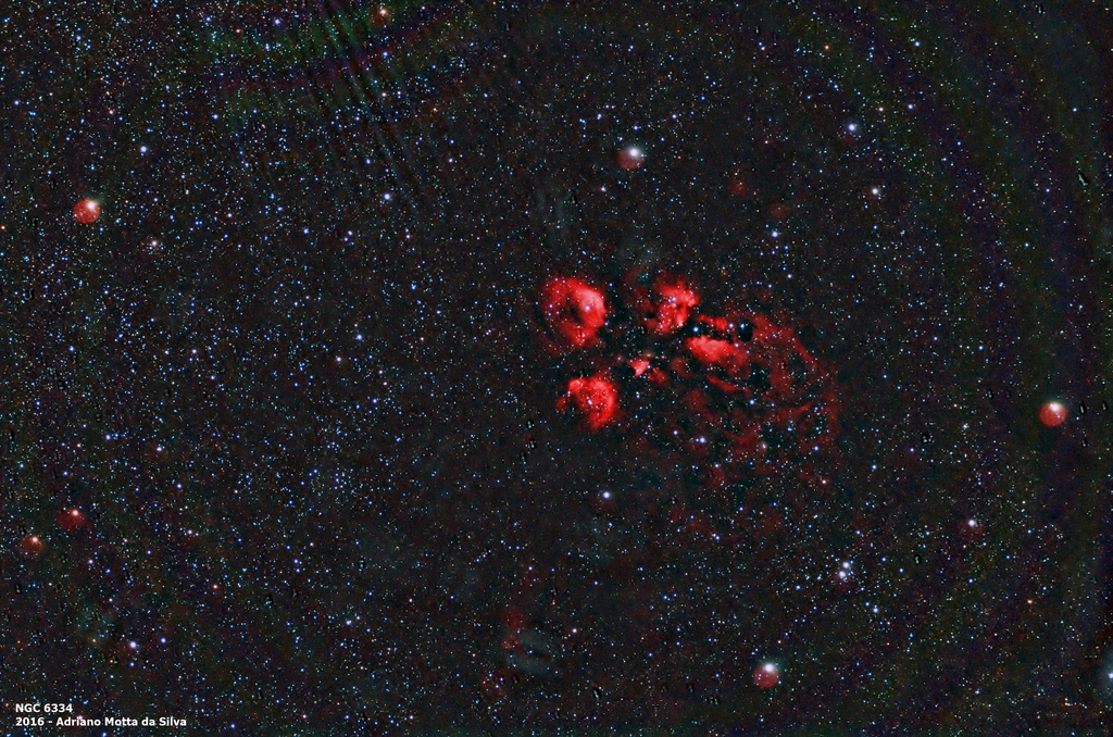 Nebulosa Pata de Gato. NGC%206334