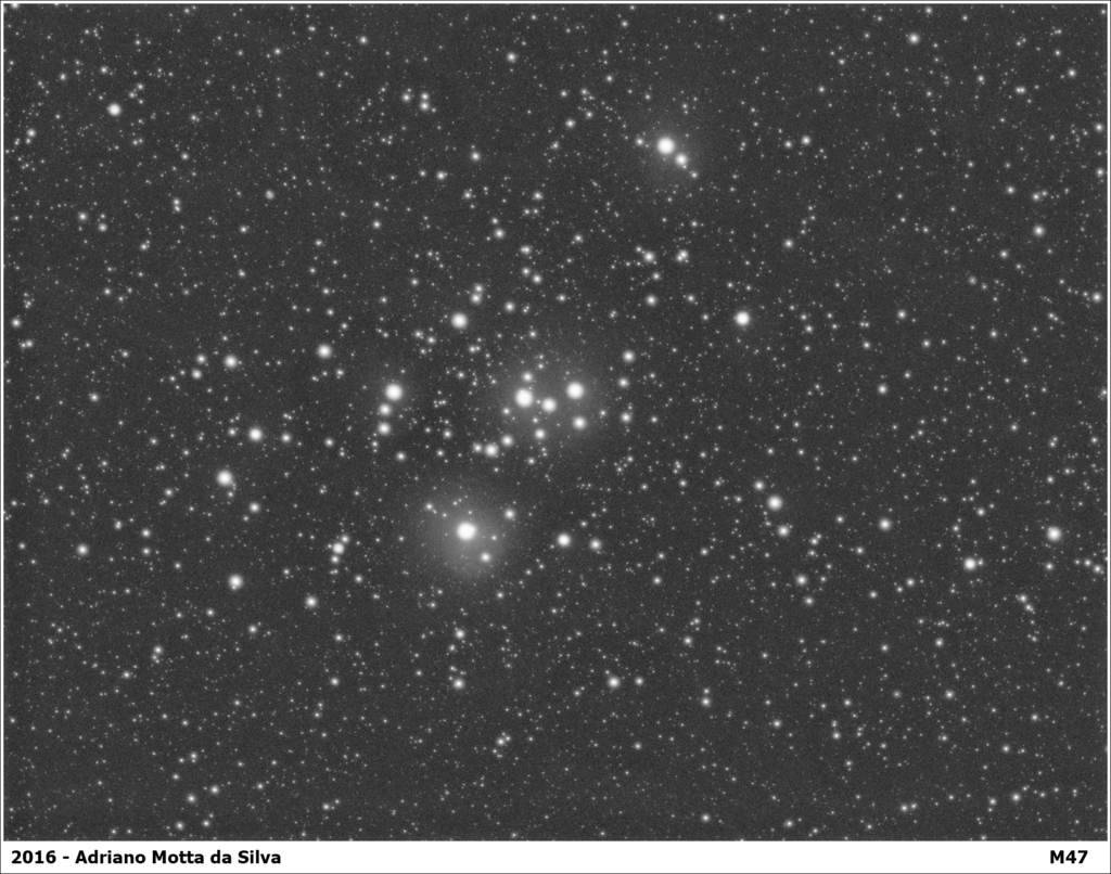 M47 - aglomerado aberto M47-1891x1488