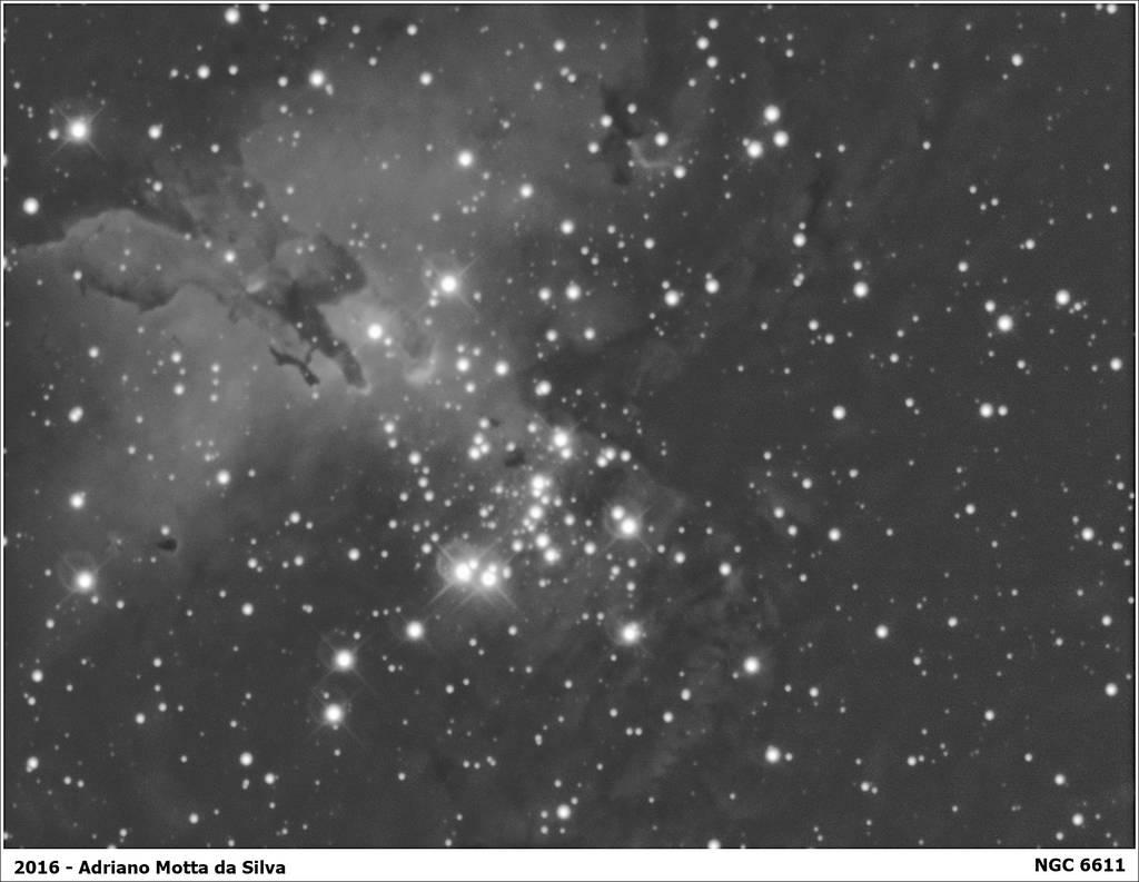 M16 - Nebulosa da Águia. NGC%206611