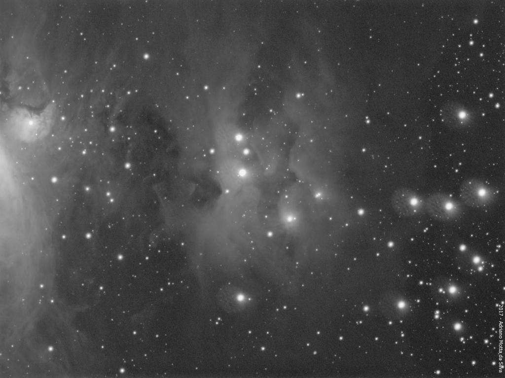NGC 1977 - Running Man Nebula NGC1977