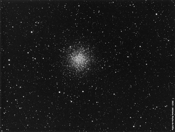 M55 - Aglomerado Globular M55-580x437