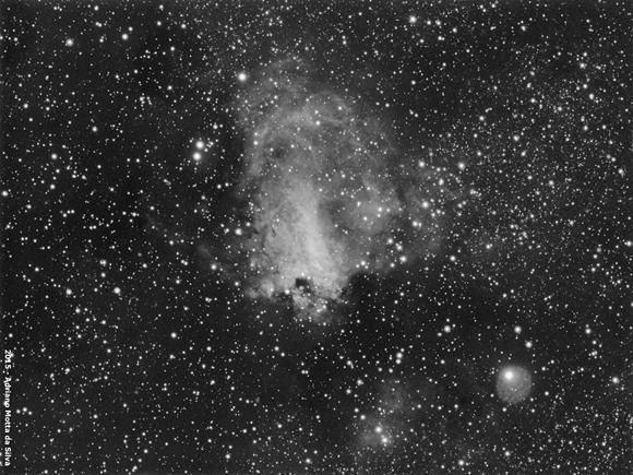 Messier 7 - Nebulosa Messier17-580x435
