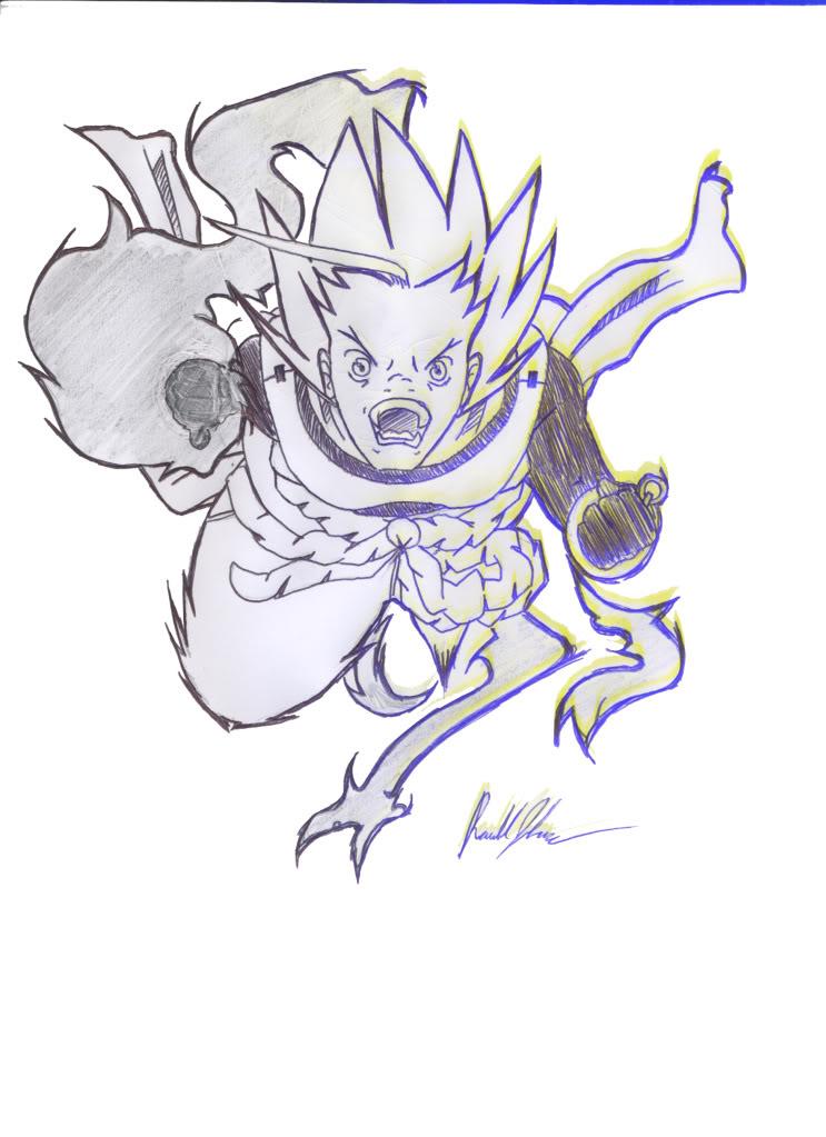 Reven's Art Kensu_dragonpunch