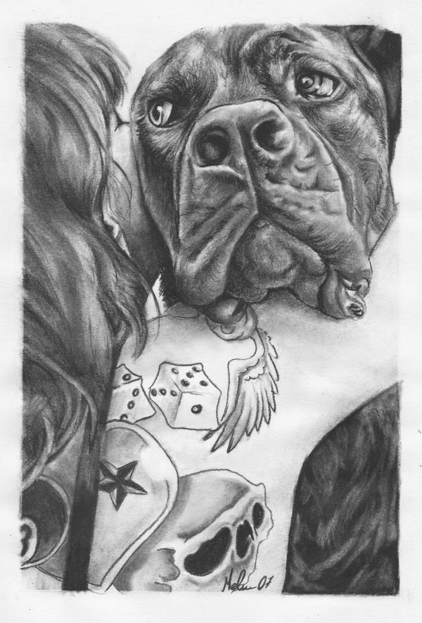 Les dessins de Mel à la pierre noire L_0ce36d07c9d649cfbffa8c1b85420f441