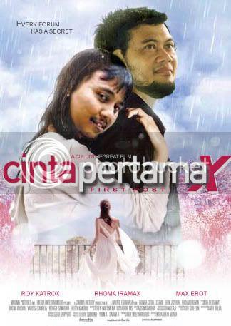 Funny movie poster!! Cinta-pertamax