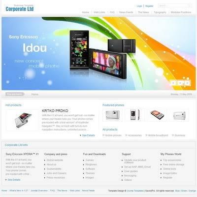 GavickPro - Corporate Joomla Templates Free Download