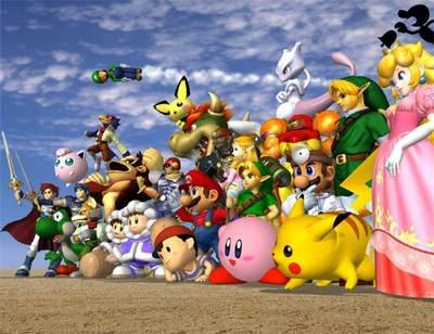Campeonato De Super Smash Bros Brawl (Wii) Smash