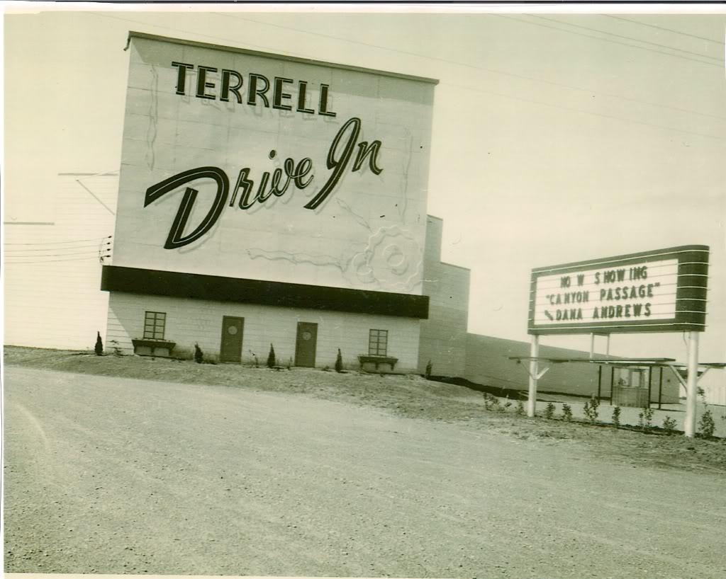 Nice Old Drive Ins TerrellDI
