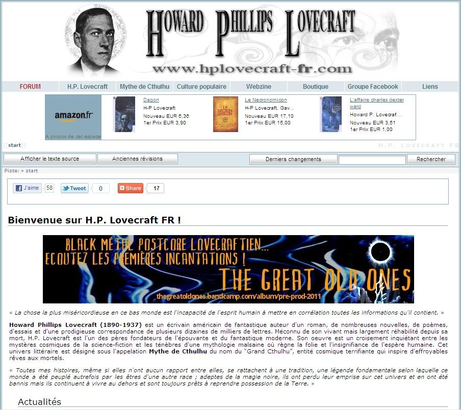 Directorio De Paginas Lovecraftianas Captura1-4