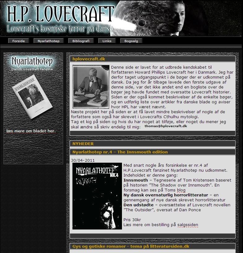 Directorio De Paginas Lovecraftianas Captura2-2