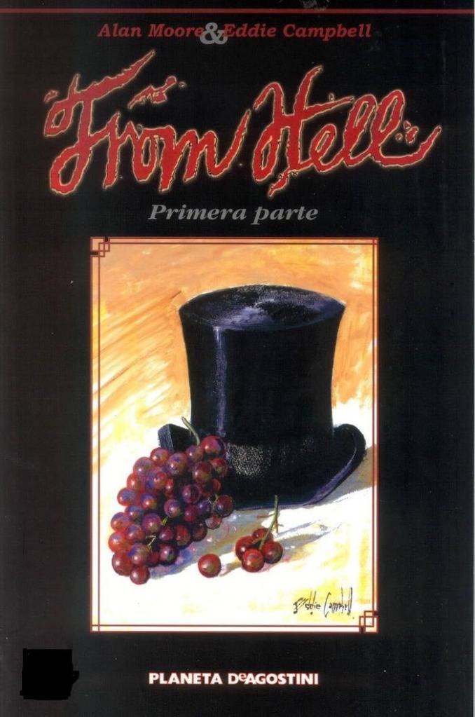 Comics De Jack El Destripador:Desde El Infierno (From Hell) Novela Grafica Alan Moore 233
