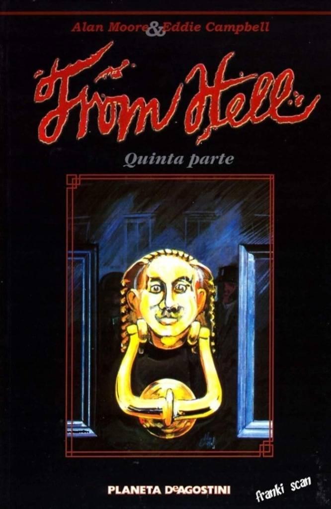 Comics De Jack El Destripador:Desde El Infierno (From Hell) Novela Grafica Alan Moore B7B