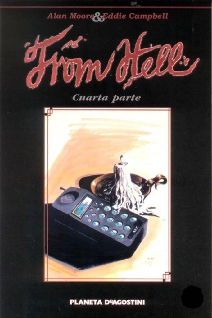 Comics De Jack El Destripador:Desde El Infierno (From Hell) Novela Grafica Alan Moore DE4