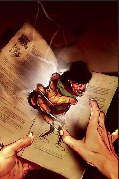Tema Oficial:Freddy Krueger Comic5