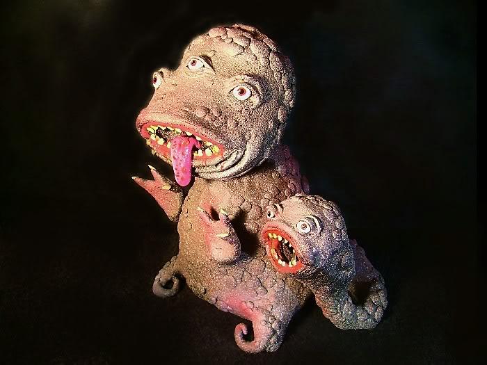 Esculturas De Primigenios  Abhoth