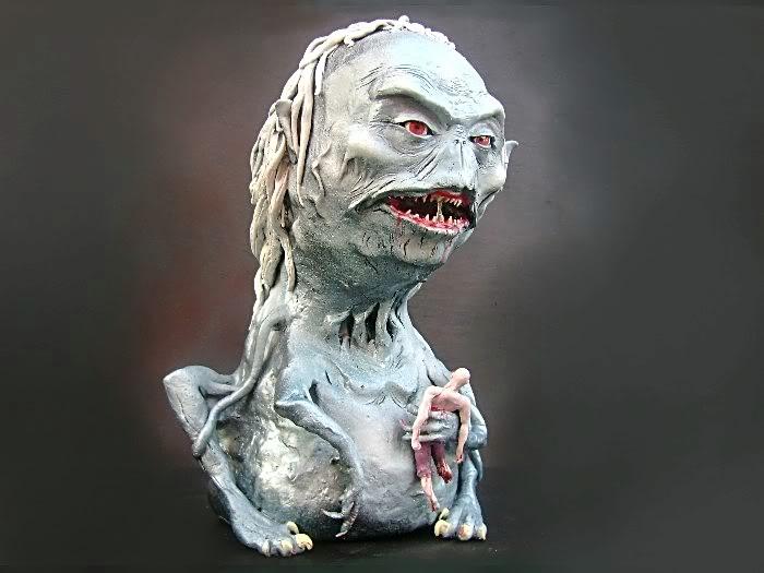 Esculturas De Primigenios  Wendigo