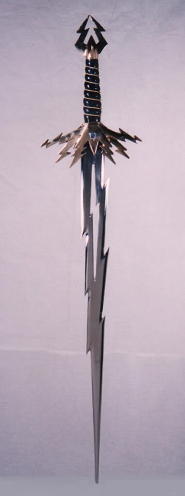Charakter - Mike Lightning-sword3