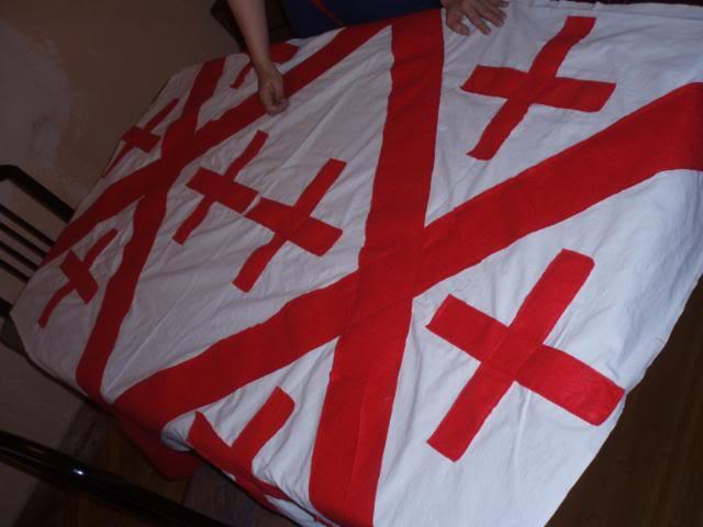 Pendón y banderas almogavares - Página 2 P6231459