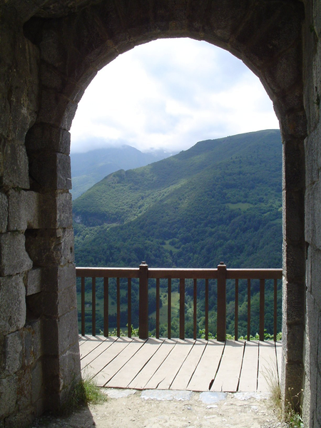 Viaje a Montsegur Balconmontsegur